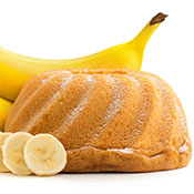 Bizcocho de Yogur y Plátano